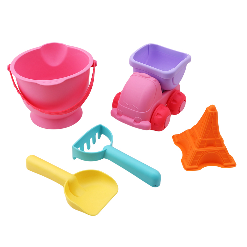 Classic Toys Considerate 5pcs Sand Sandbeach Kids Beach Toys Castle Bucket Spade Shovel Rake Water Tools Children Beach Sand Dune Tool Toys For Children Clear-Cut Texture