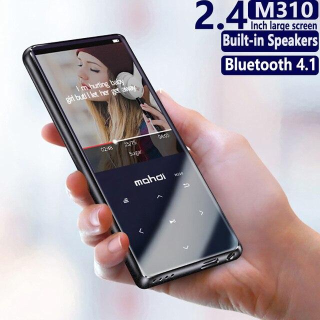 Bluetooth4.1 MP4 נגן מגע מפתח דק במיוחד 8 GB/16 GB MP4 וידאו נגן 2.4 אינץ צבע מסך Lossless קול עם FM ספר אלקטרוני