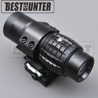 Tactical Rifle Scopes 3X Magnifier Scope Compact Tactical Sight With Flip To Side Mount For 20mm