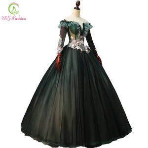 f0128afc3caf SSYFashion New Prom Dress Elegant Lace Floor-length Formal