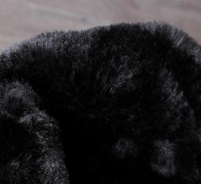 US $39.44 42% OFF|JOZIGBEMA Männer Lange Stiefel Mode Winter Hohe Mittlere Waden Motorrad Kampf Boot Winter Mann Zip Reiten Armee Warmhalte Hinzufügen