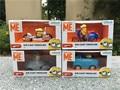 Original Despicable Me Minion 4pcs Diecast Vehicles 7cm Toy Cars Set New
