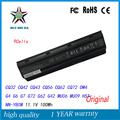 100Wh Original New Laptop Battery MU09 For HP Pavilion G4 G6 G7 G32 G42 mu06 G56 G62 G72 CQ32 CQ42 CQ62 CQ72 DM4 593553-001