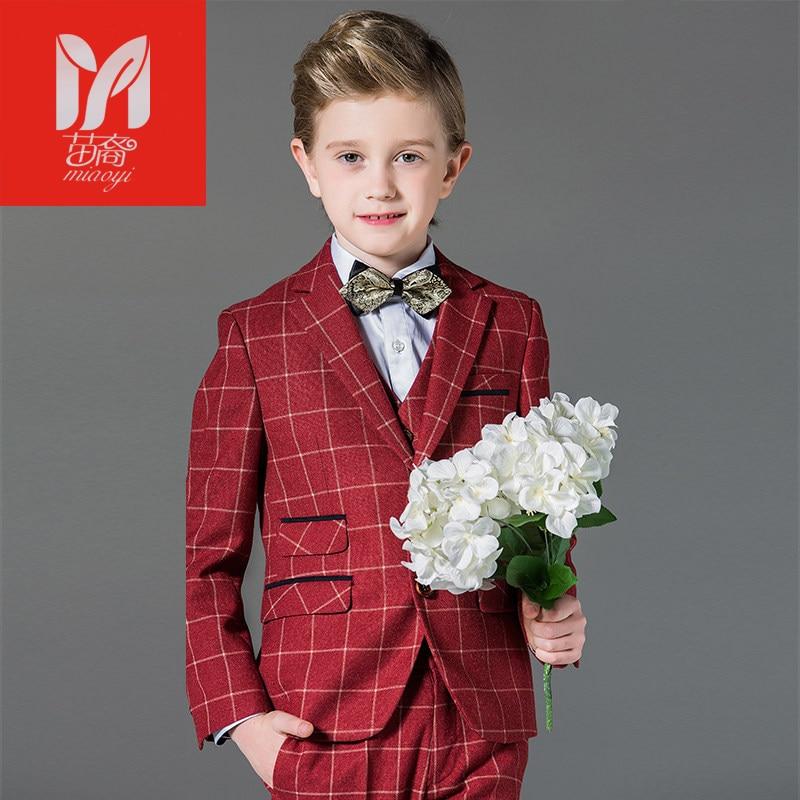 2017 Детские комплекты одежды для отдыха для маленьких детей костюмы для мальчиков Пиджаки для женщин платье жилет праздничная одежда джентл