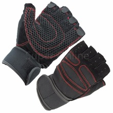 Sports Gym Women/Men Gloves Body Building Training Fitness Half Finger Breathable Weight Lifting Gloves, Size M/L/XL