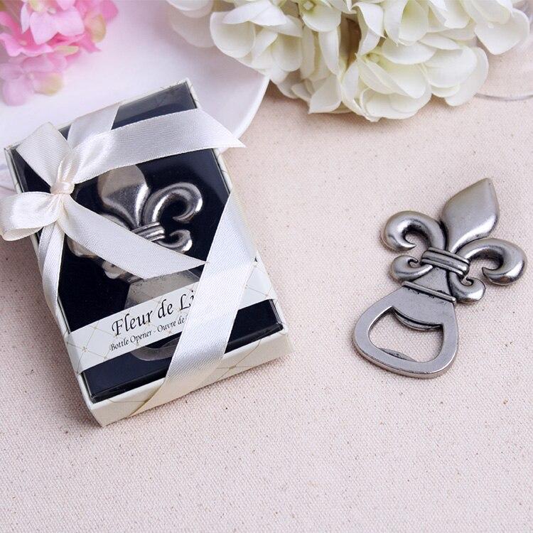 Free Shipping 15pcslot Wedding Party Gift Favors Fleur De Lis