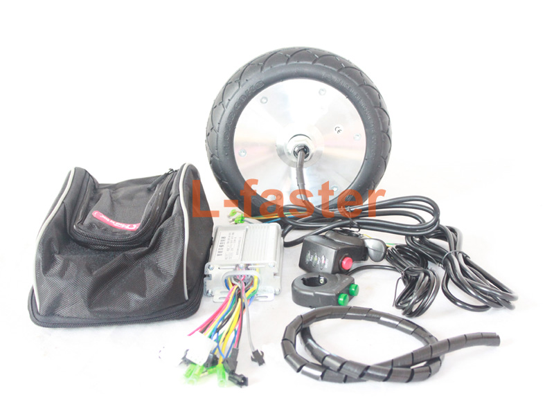 36v 150w electric kickscooter motor kit town 9 scooter for Scooter hub motor kit
