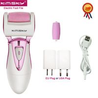 KIMISKY Foot Care Tools Electric Exfoliator Callus Remover file for feet PK Scholls Sawing file Callous Pedicure 2 Roller Heads