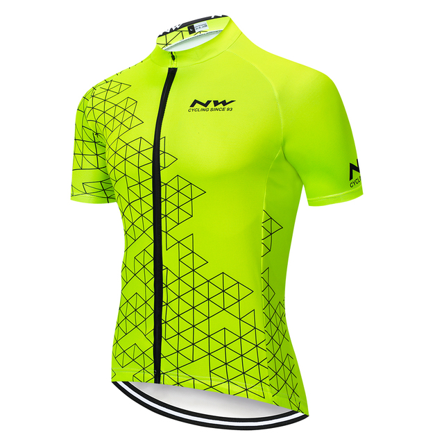 NW 2019 Pro Team Cycling Jersey Summer Short Sleeve MTB Racing Bicycle Bike Cycling Clothing Men Maillot Tops Northwave