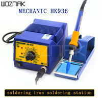 MECHANIC HK936 Lead free anti static High end intelligent Rework Soldering Station Iron for mobile phone computer repair welding