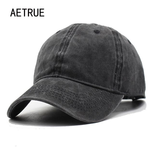 Femmes Snapback casquettes hommes Casquette de Baseball chapeaux pour hommes Casquette plaine os Gorras coton lavé blanc Vintage casquettes de Baseball chapeau de soleil