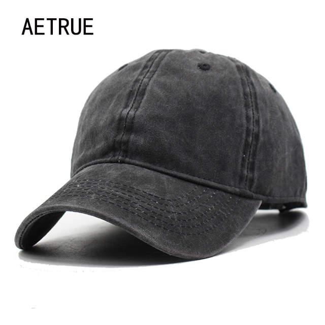 af8a21b306b Women Snapback Caps Men Baseball Cap Hats For Men Casquette Plain Bone  Gorras Cotton Washed Blank