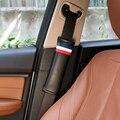 Один пк пояс автокресло заполнение автомобили аксессуары для интерьера PU губки ремень безопасности обложки для автомобиля - стайлинг флаг - футляр