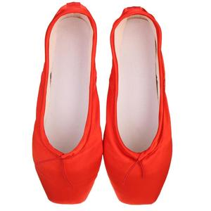 Image 5 - Child Adult Ballet Pointe Dance Shoes For Girls Ladies Professional Ballet Dance Shoes With Ribbon Shoes Women Soft Ballet Shoes