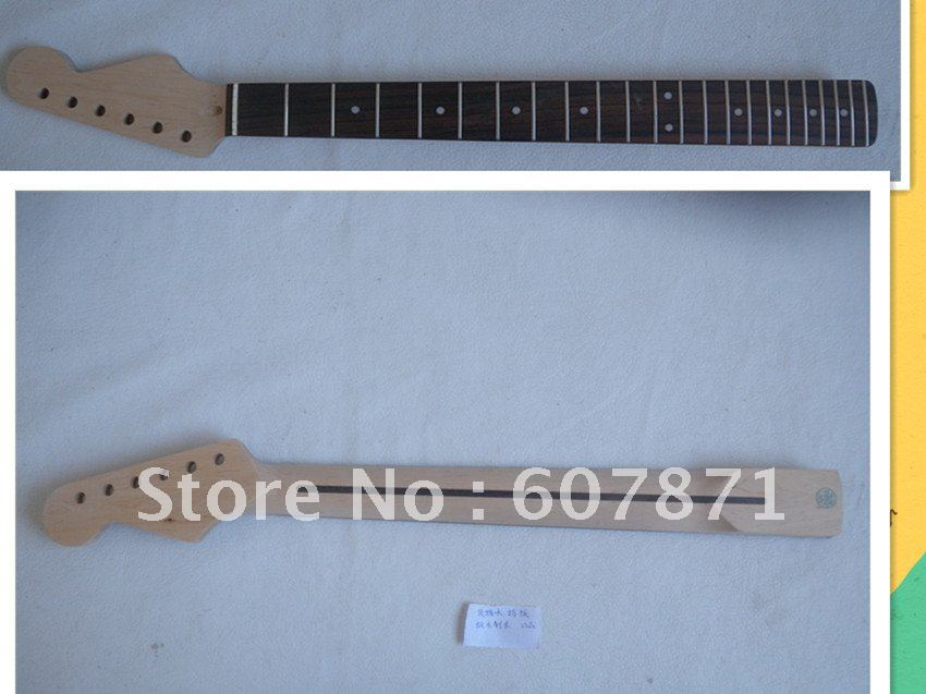 1 pcs NEW high quality   Unfinished electric guitar neck  rose  wood  Fretboard 105# china s guitar high quality unfinished tl electric guitar ash diy guitar real photos free shipping