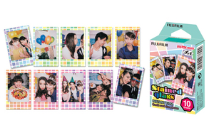 Image 4 - For Fujifilm Instax Mini 11 8 9 25 90 Film Camera, 50 Sheets Instant Photo Rainbow, Stripe, Shiny Star, Candy Pop, Stained Glass
