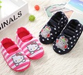 Kids Slippers Children Home Shoes Baby Shoes For Boys Girls Indoor Bedroom Warm Winter Cotton Slipper Animal Cartoon Cat Pattern