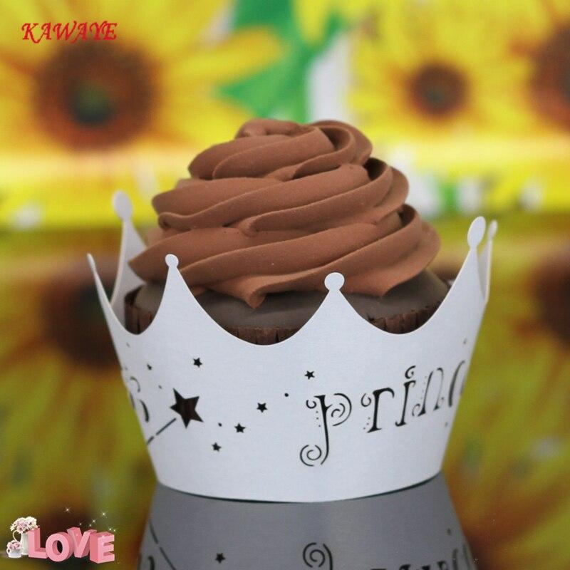 Us 636 41 Off50 Buahset Muffin Cupcake Kertas Kue Bentuk Cupcake Liner Baking Muffin Kotak Piala Case Pesta Tray Cetakan Kue Ulang Tahun Dekorasi