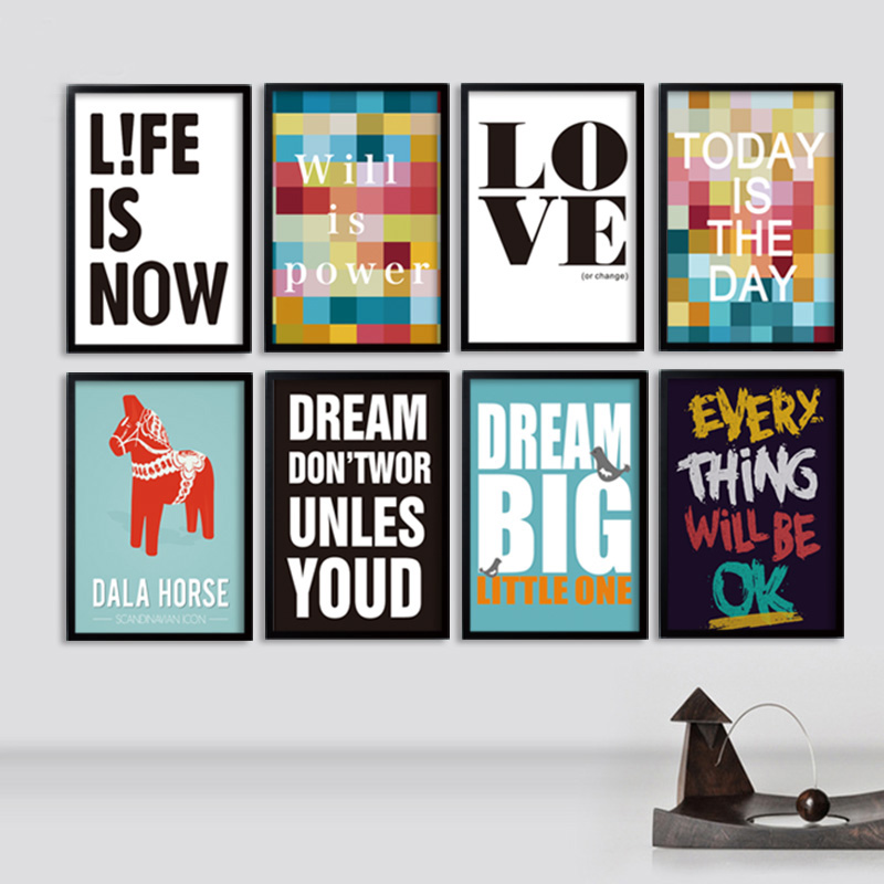 150 Best Printable Wall Art Quote Posters Nursery Kids: Modern Quotes Inspiring Canvas Paintings Nursery Wall Art