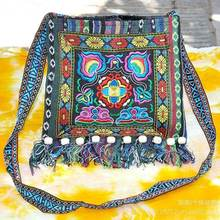 Винтажная Этническая сумка через плечо женская мессенджер с