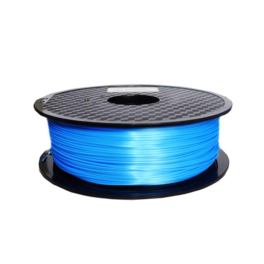 silky copper pla filament silk 1 75mm 1KG 3D printing material silk like feel PLA Metal like Red Blue Green Natural in 3D Printing Materials from Computer Office