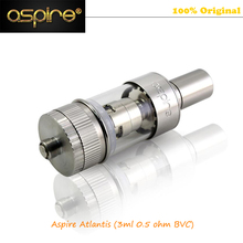 Hot sale Brand New Arrival Adjustable Airflow 2ML Clear Pyrex Tank Aspire Atlantis Kit With 0.5ohm BVC Coil