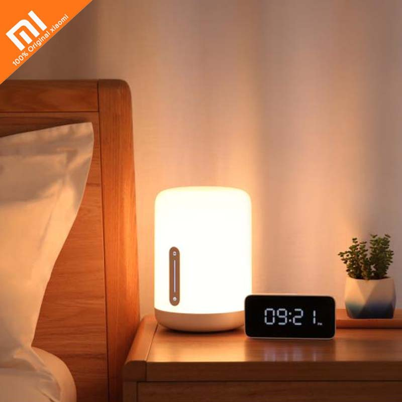 5 colors original xiaomi mijia meter bedside lamp multiple voice control touch switch smart APP color