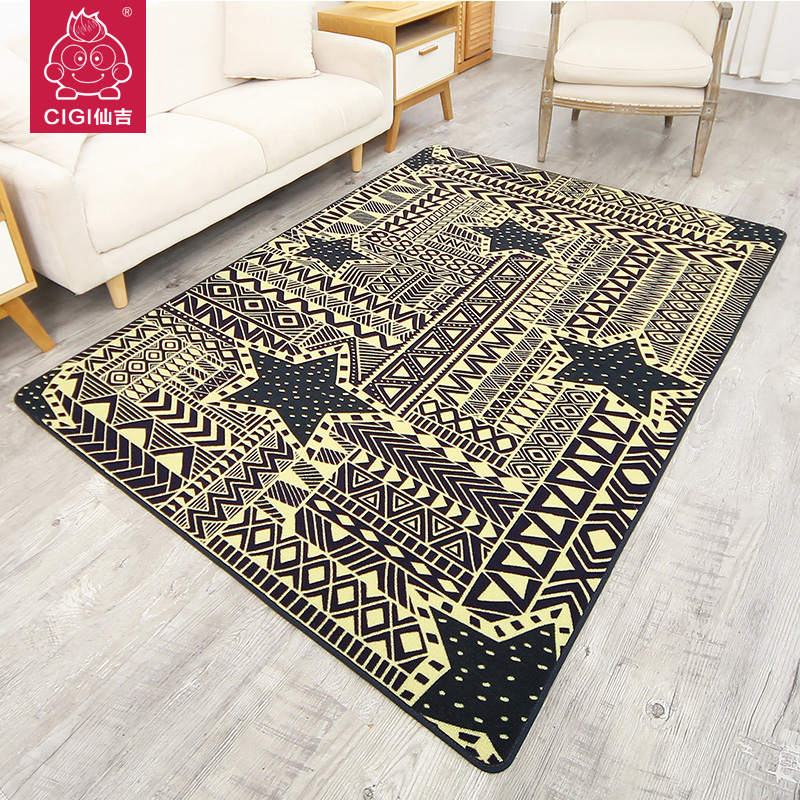 Cigi simple geometric pattern carpet creative design - Home design carpet rugs woodbridge on ...