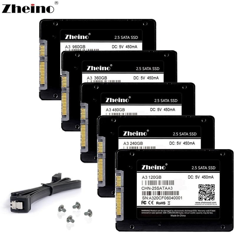 Zheino SATAIII SSD 60 GB 120 GB 240 GB 360 GB 480 GB 960 GB 1 TB 128 GB 256 GB 512 GB 6 Gb/s interna unidades de estado sólido de disco