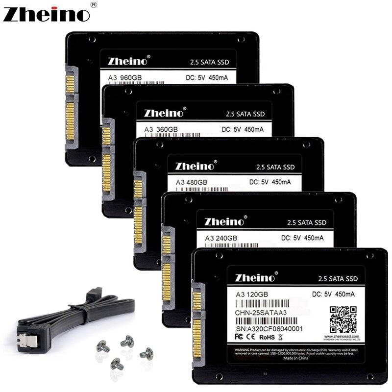 Zheino SATAIII SSD 60 gb 120 gb 240 gb 360 gb 480 gb 960 gb 1 tb 128 gb 256 gb 512 gb 6 gb/s Interne Solid State Drives Festplatte