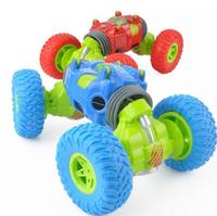 Children's remote control toy 2.4G remote control off road climbing car vacuum tire Rechargeable shock absorber stunt car