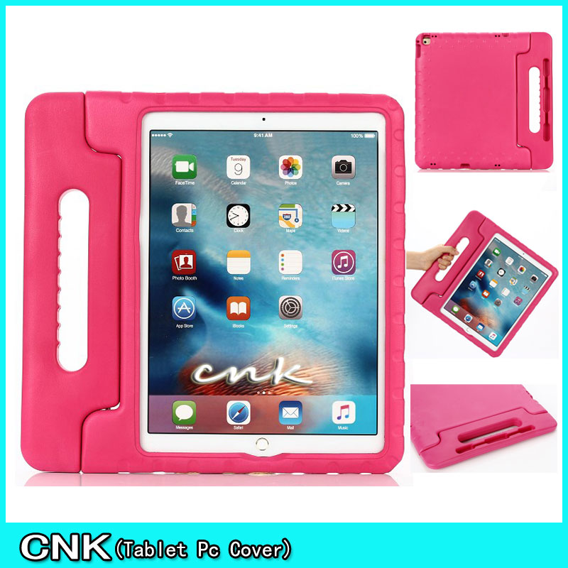 NEW Cover Funda Coque Children Kids Handle Stand Protective Cover For Apple iPAD Pro 12.9 Case EVA Foam Shockproof Case Cover