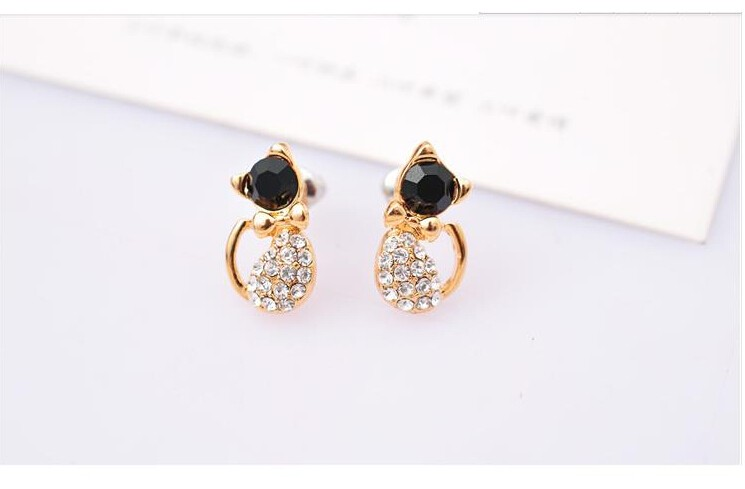 Cat Stud Earrings 3