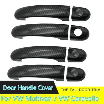 Cromo cubierta de la manija de la puerta Trim para VW Multivan/VW Caravelle 2003, 2004, 2005, 2006, 2007, 2008, 2009, 2010, 2011 2012, 2013