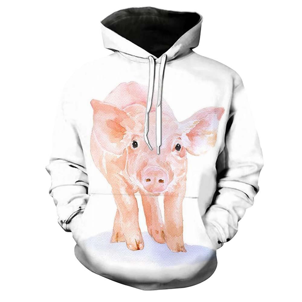 Hoodies & Sweatshirts Fashion Style Korean Style Large Size Print Bird Beaded Sweatshirt 2019 Fall Winter New Loose Comfortable Cotton Pockets Sweatshirt Re2229 Elegant Shape