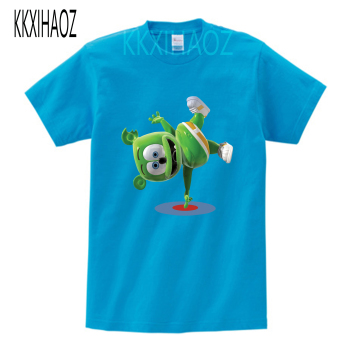2019 summer New Fashion kids T-shirt Gummy Bears  Print Casual Cool t shirt summer boys and girls Tshirt mj printio i love gummy bears