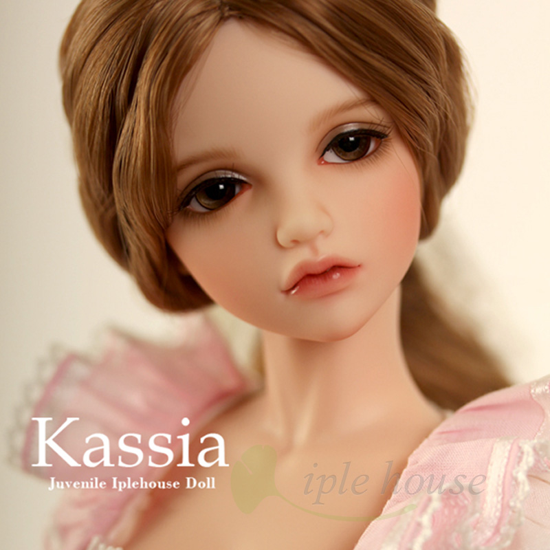 New Iplehouse IP Jid Kassia bjd sd doll 1/4 body free eyes Joint doll gift High Quality resin toys girls Strong action lps pet shop toys rare black little cat blue eyes animal models patrulla canina action figures kids toys gift cat free shipping
