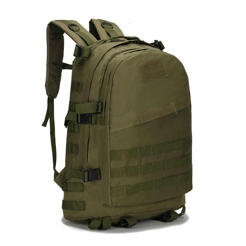 40L 3D erkekler taktik sırt çantası askeri sırt çantası açık spor askeri tırmanma sırt çantası kamp yürüyüş Trekking sırt çantası Tas