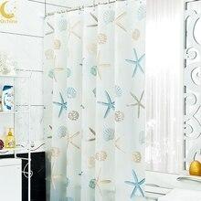 Bathroom Shower Curtains Waterproof PEVA Mildew Proof Curtain7 Styles For Choose Y1