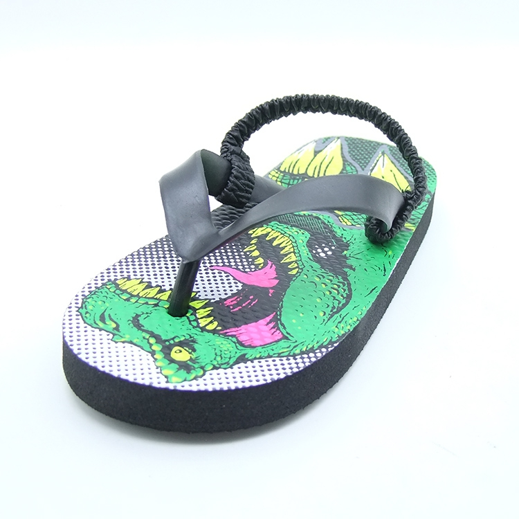 Dinosaur Shoes Kids Flip Flops Boys Barefoot Shoes Toddler Slippers Children Beach Shoes Kids Swimming Water Shoes Boy Summer in Slippers from Mother Kids