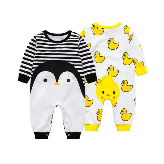 5c4df718cb66 Hola Cute Baby Rompers Long Sleeves Baby Girl Romper Pure Cotton Newborn  Baby Body Suit Cartoon