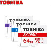 D'origine TOSHIBA16GB 32 GB 64 GB 128 GB carte Mémoire MicroSD Classe 10 Micro SD Tf Pour téléphones tablet navigator DVR + adaptateur + paquet