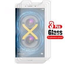 3 шт для Huawei Honor 6X Защитная пленка для экрана из закаленного стекла 9 H устойчивое к царапинам стекло для Huawei Honor 6X
