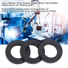 12Pcs/Set Rubber Washers Water Pipe Ring Shower Faucet Replacement for Sealing Fastener o ring Hot Sale