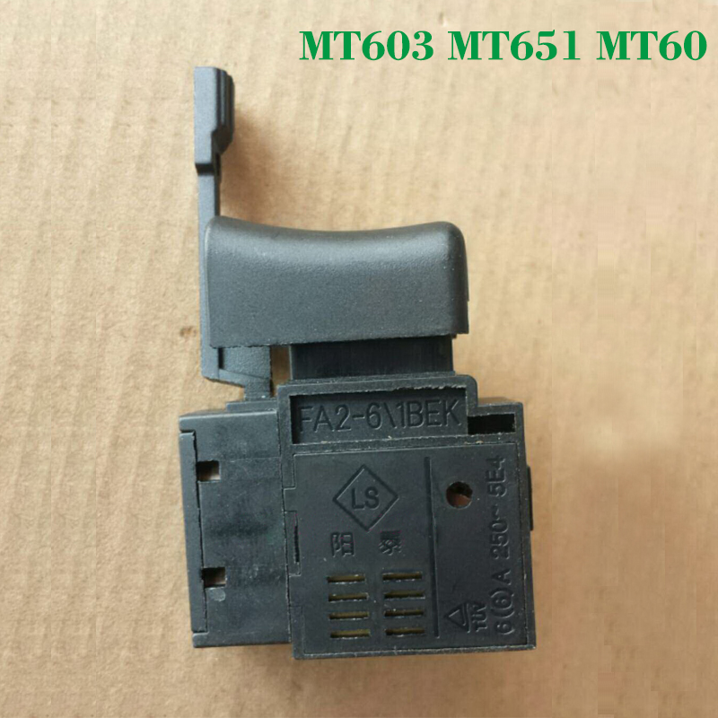 Free shipping! Electric hammer Drill Stepless speed regulating switch for Makita MT603/MT651,Power Tool Accessories free shipping original electric hammer drill speed control switch for bosch tsb1300 gsb500re power tool accessories
