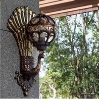 Внешний свет безопасности Открытый лампы освещения стен для балкона Современные настенные бра Водонепроницаемый крыльцо свет наружного о
