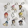 12pcs) Small accessories keychain taekwondo supplies cartoon 48 kinds of styles choice sport gifts for birthday Keepsake pendant