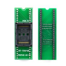 Złocenie podwójny kontakt Origina nowy adapter TSOP48 na DIP48 gniazdo TSOP48 dla RT809F RT809H i dla XELTEK programator usb cheap SOLAR General purpose kalkulator Kalendarz Podwójne zasilanie Z tworzywa sztucznego sinstar