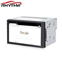Rhythm Quad Core 7 2 Din Android 6 0 Car DVD Radio Multimedia Player GPS Navigation