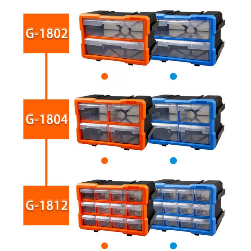 Combined Parts Box Drawer Plastic Storage Box Screws Nuts Nails Drill Classification Component Toolbox